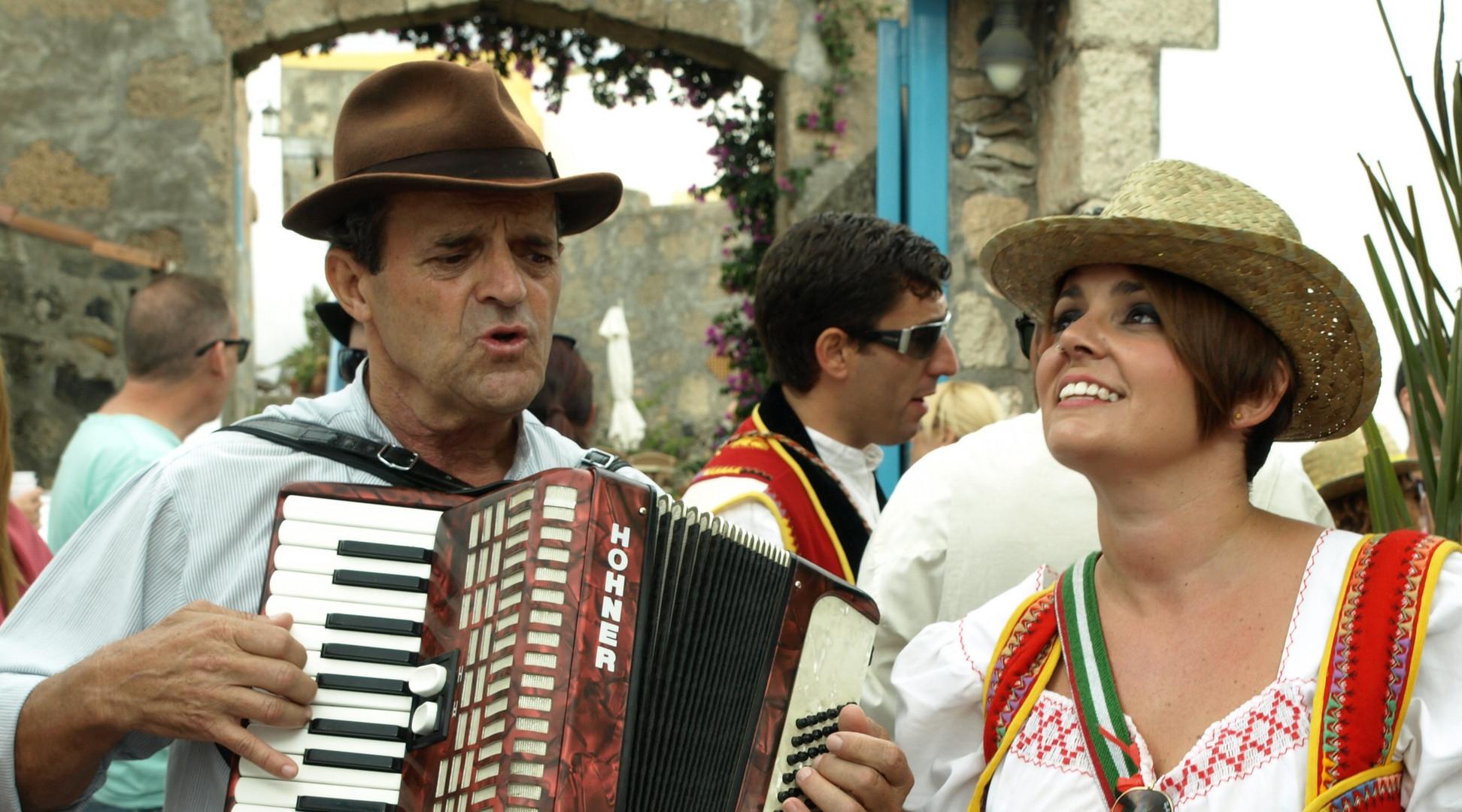 Romeria in San Miguel de Abona in Teneriffa
