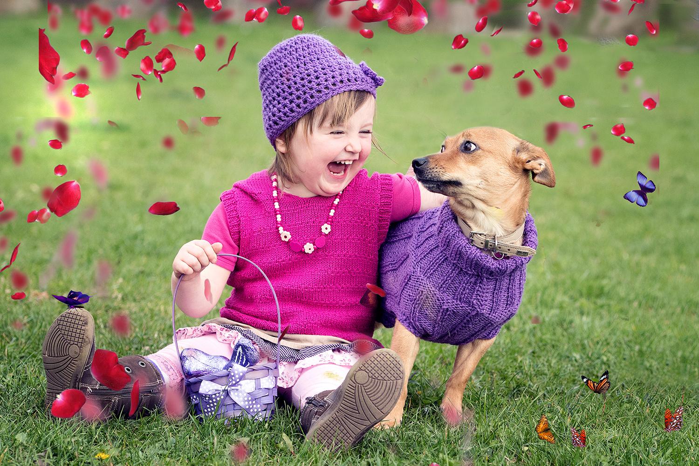 Romina & Lilly the dog !