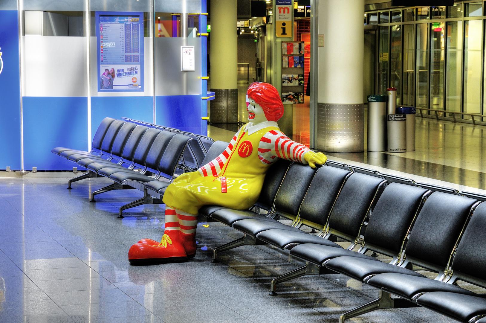 Ronald wartet