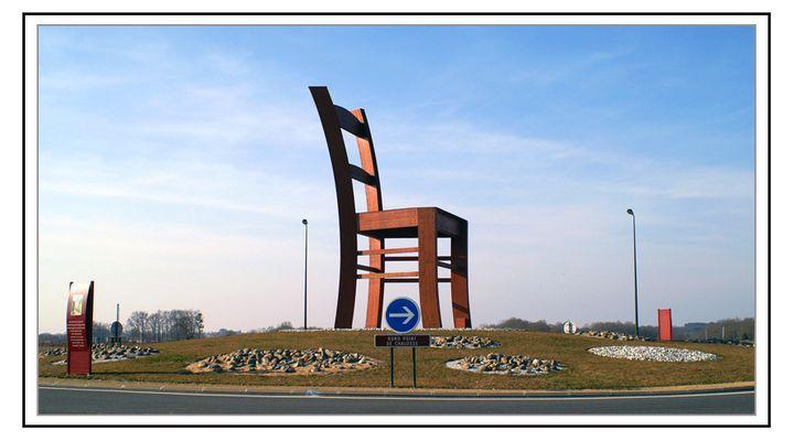Rond point de la chaise - Hagetmau(40)