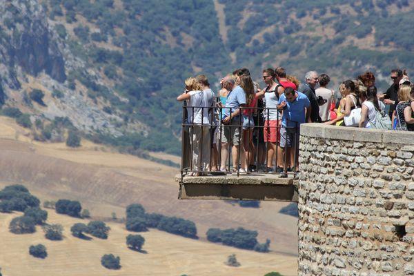 ronda ,andalousie, vide , vertige ,été,paysage ,vacances