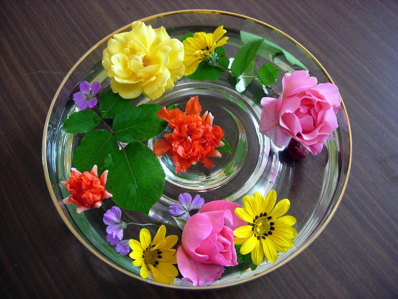 Ronde de fleurs.