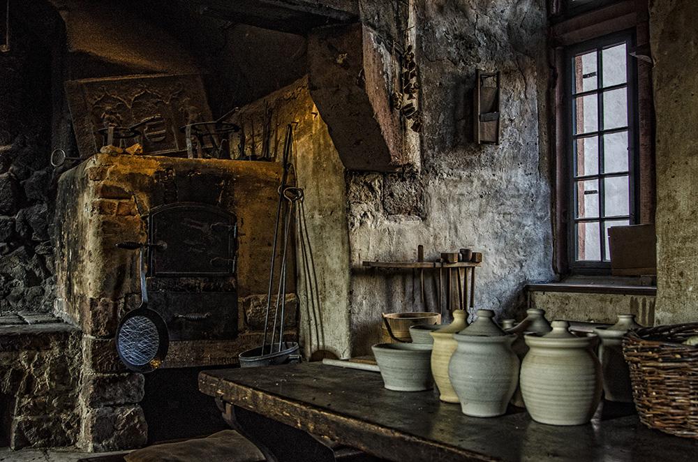 Ronneburg - die Küche