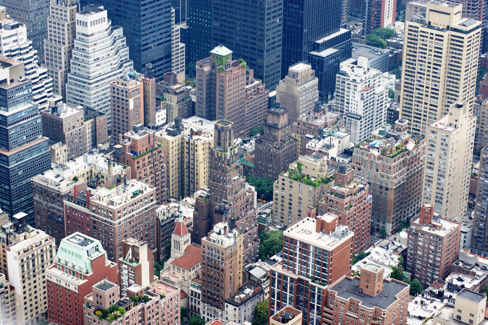 Rooftops New York City Manhattan