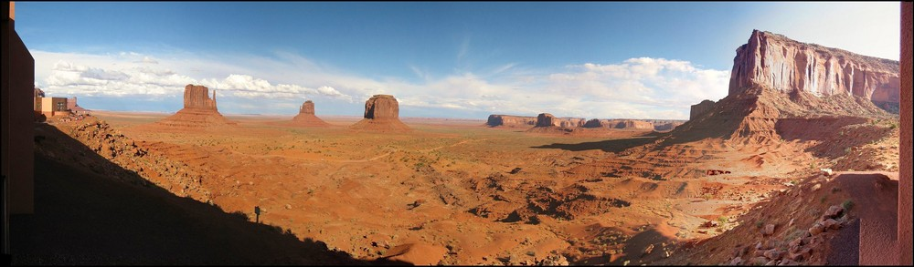 Room 224, View from The View, Monument Valley