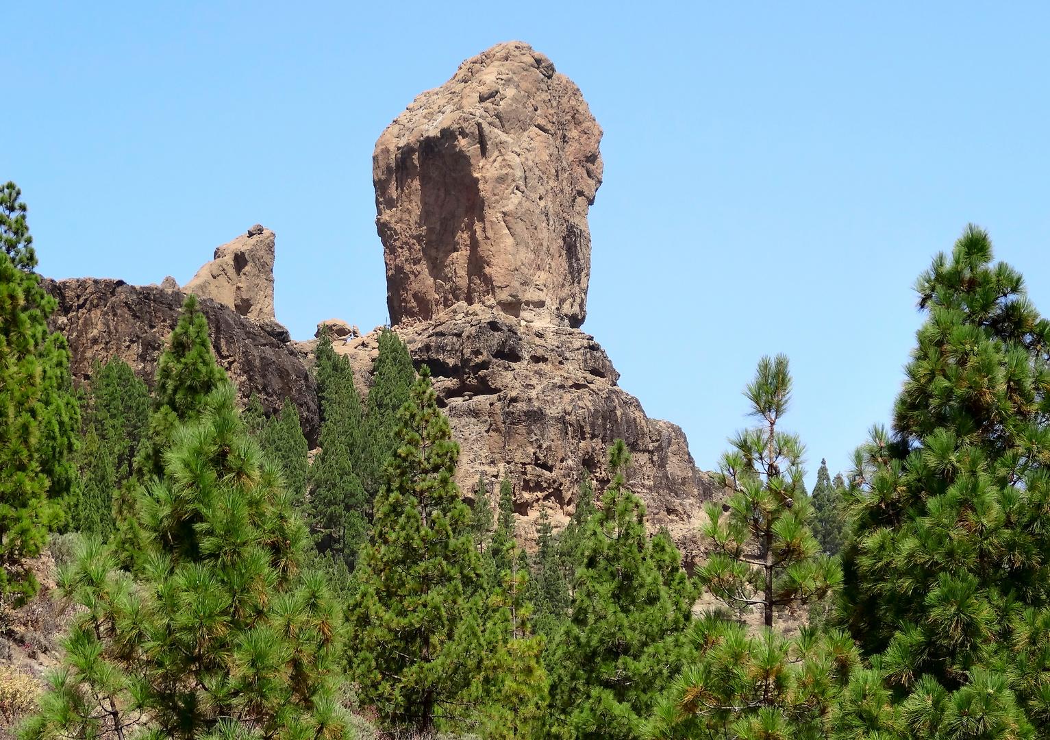 Roque Nublo - der Wolkenfels