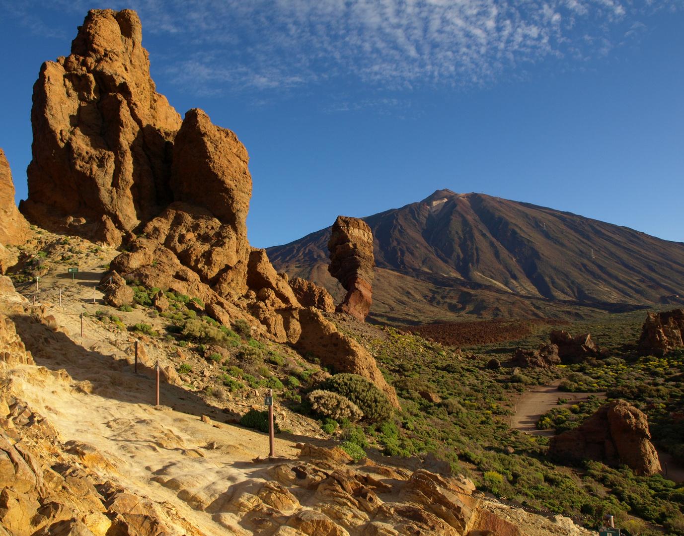 Roques de Garcia y Pico del Teide