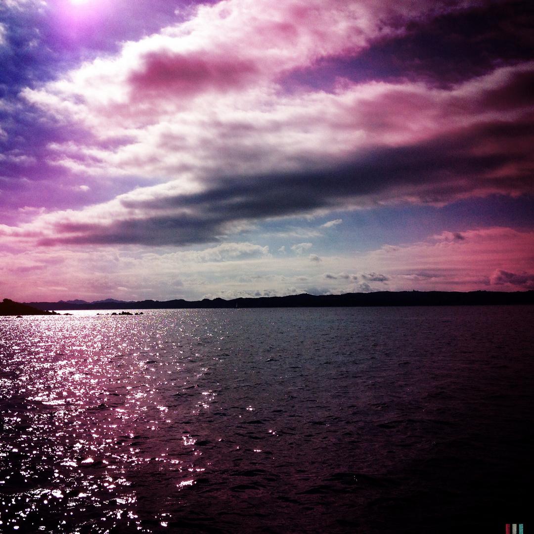 Rosa di sera foto immagini paesaggi albe e tramonti for Paesaggi fantasy immagini