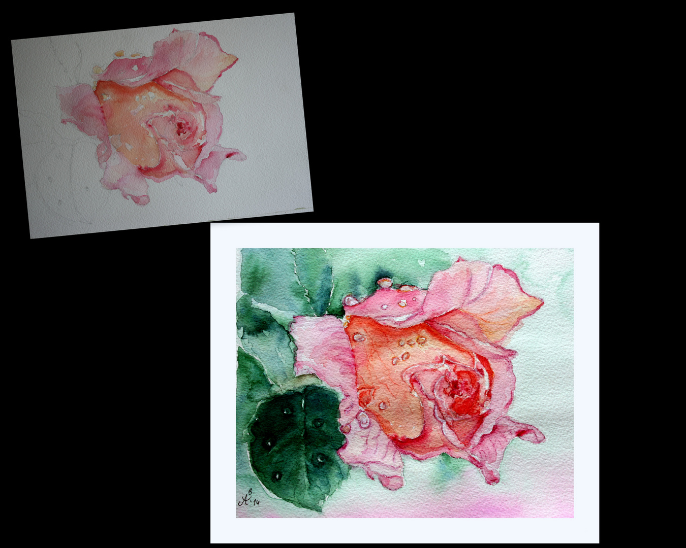 """Rose am Sonntagmorgen"" -  montags :-)"