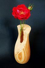 Rose in Holz