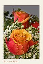 Rose und Zitate (II)....