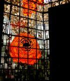 Rosenfenster im Mariendom zu Neviges.