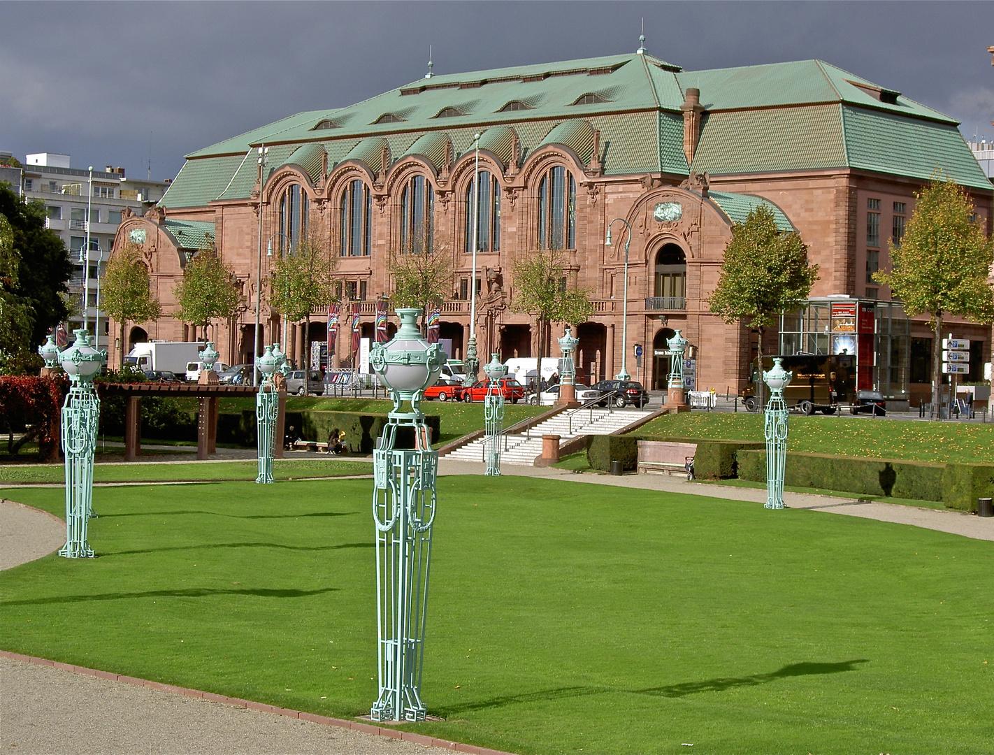 Rosengarten in Mannheim