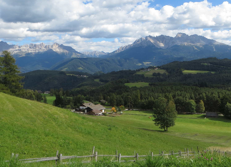Rosengarten, Sudtirol