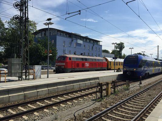 Rosenheimer Bahnhof