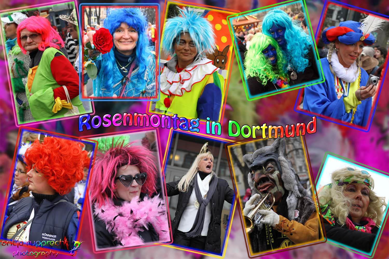 Rosenmontag in Dortmund