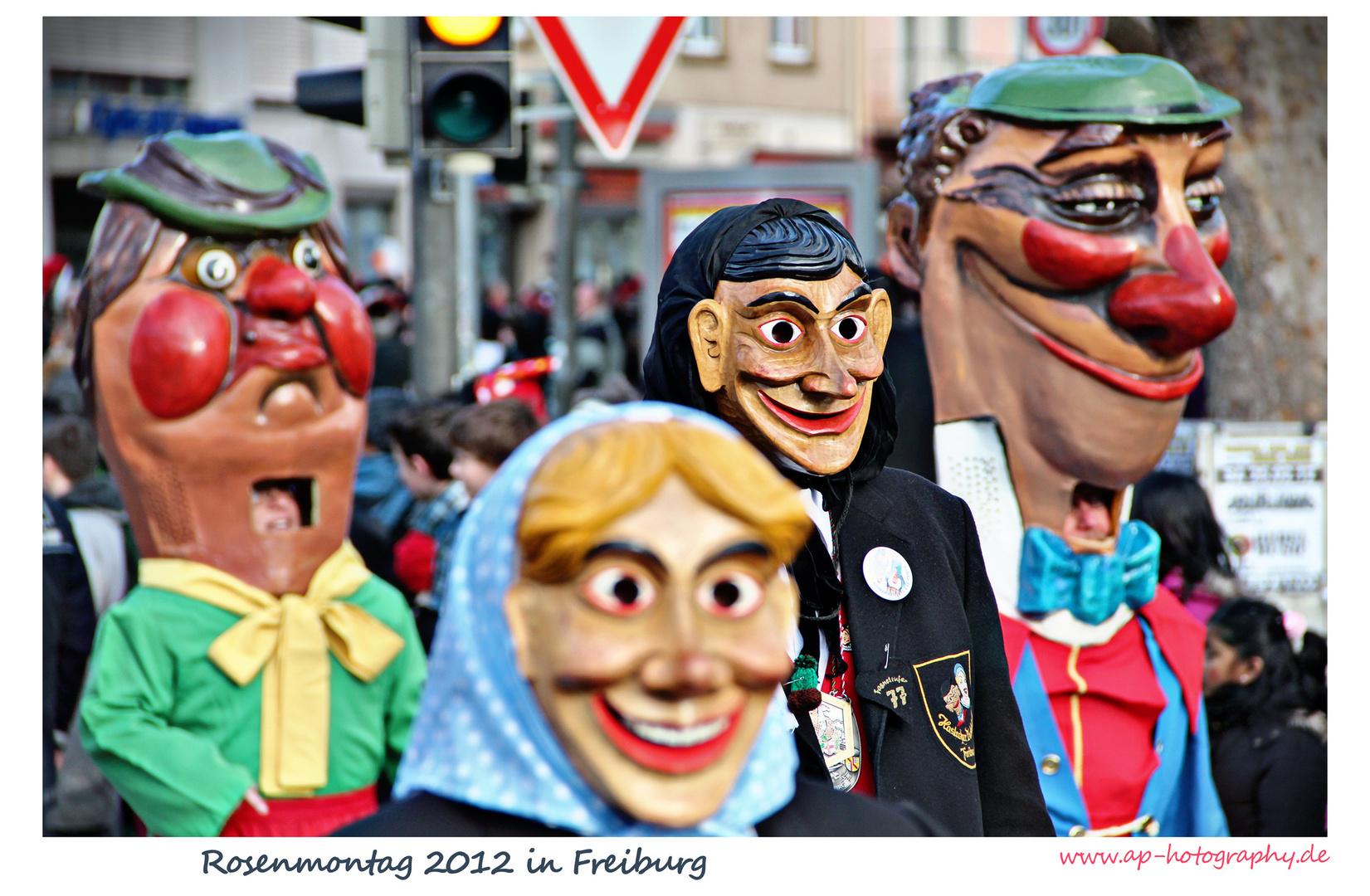 Rosenmontag in Freiburg 2012 - 1