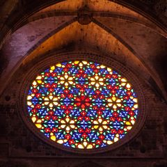 Rosette Kathedrale Palma