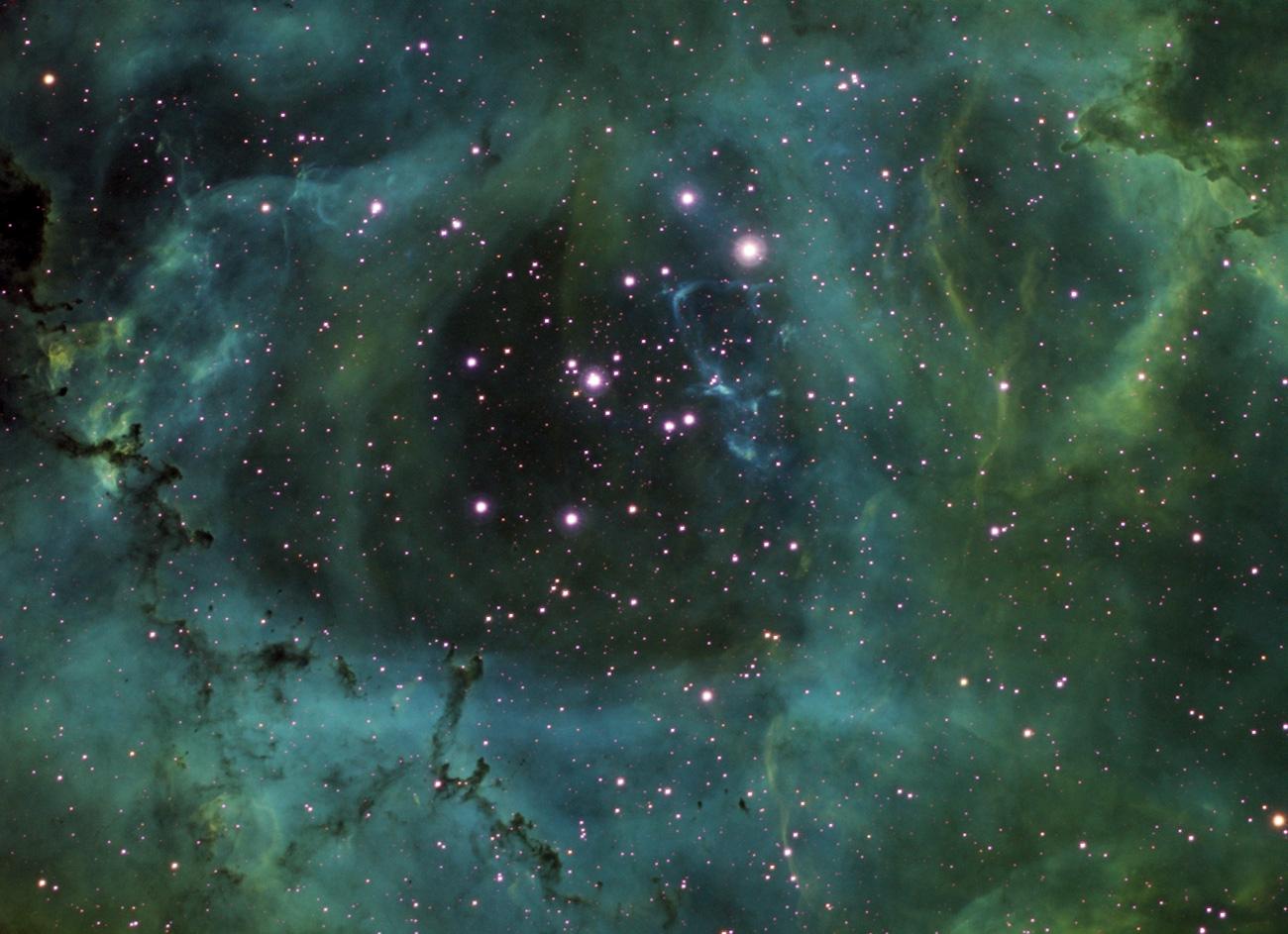 Rosettennebel-Zentrum mit Sternhaufen NGC2244