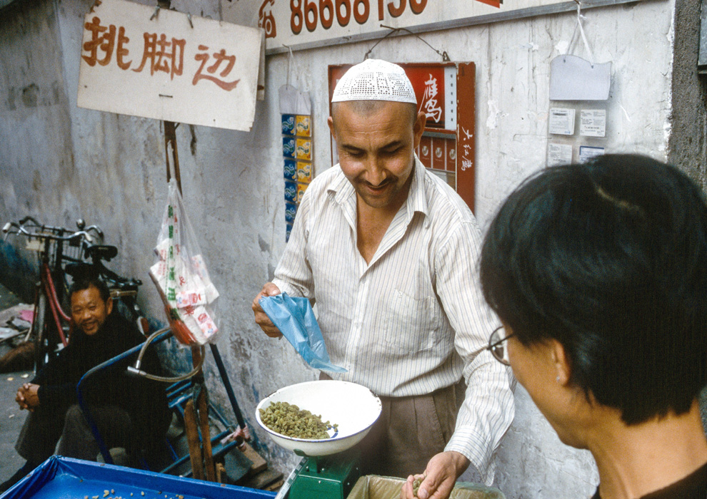Rosinenverkäufer in Chengdu China