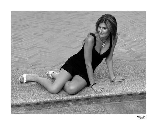 ... Rossella in b/n..