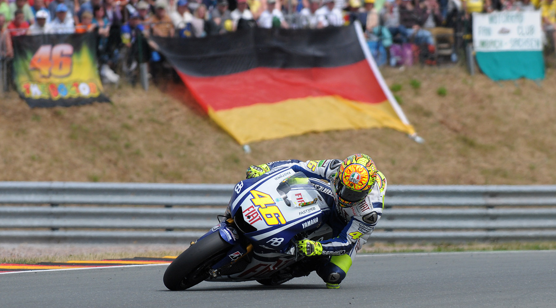 Rossi is back