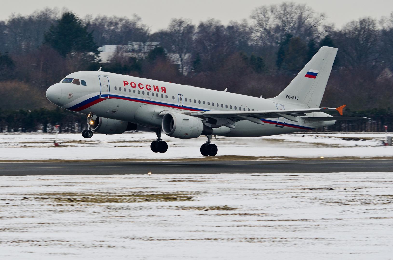Rossiya Airbus A319-112