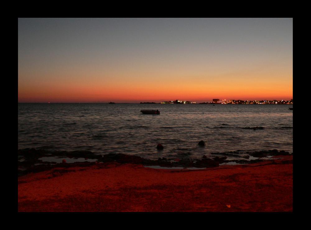 .......rosso di sera...bel tempo si spera...