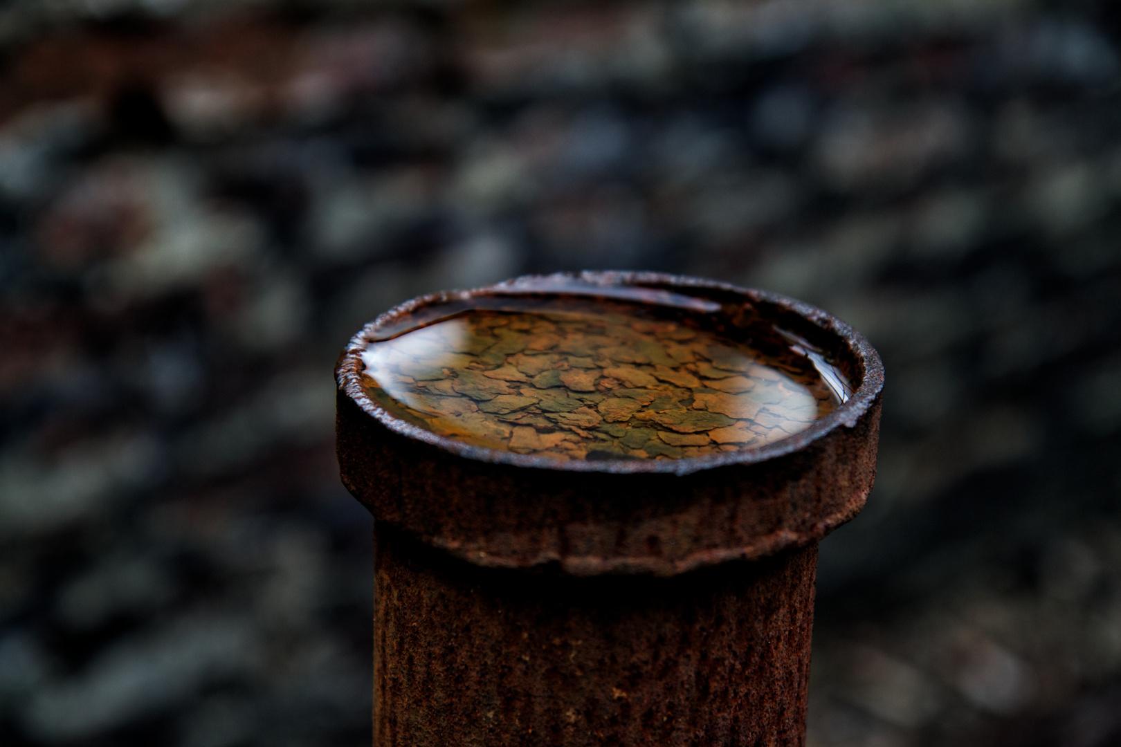 Rost und Wasser