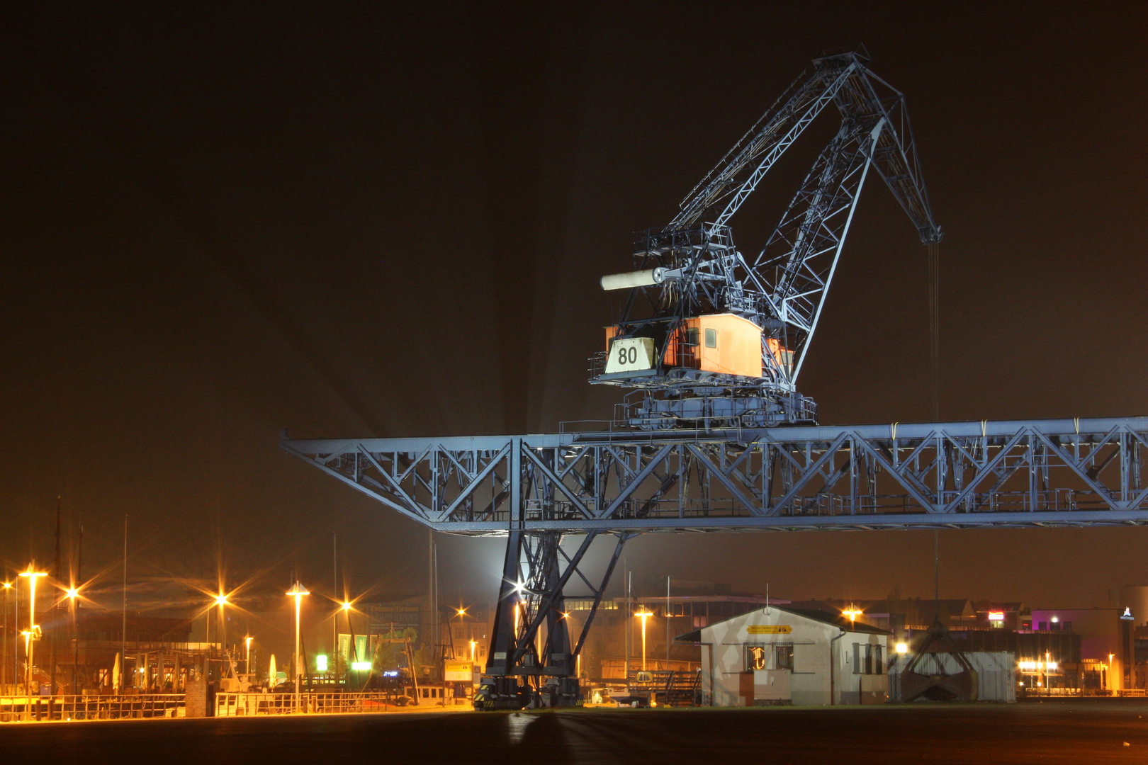 Rostock bei Nacht2
