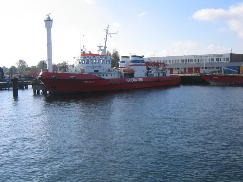 Rostock Hafen Feuerwache
