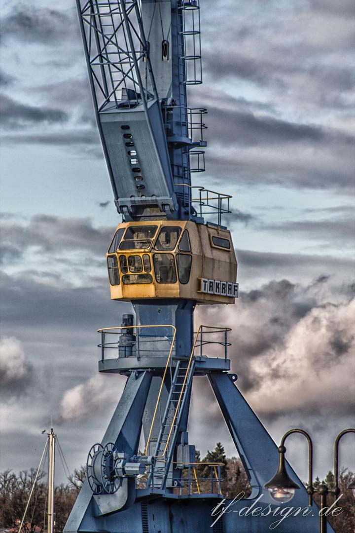 Rostock Stadthafen (Hafenkran)