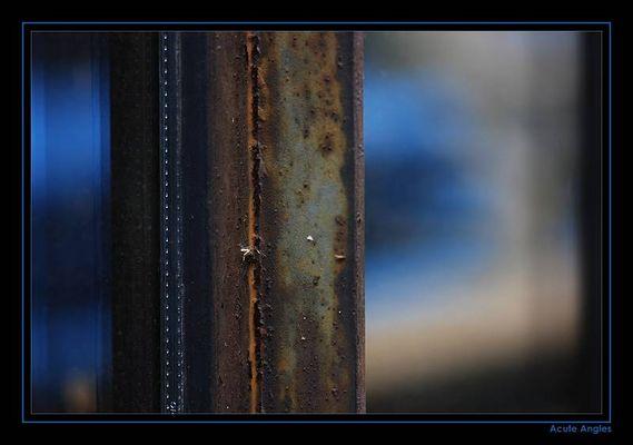 Rostromantik blau