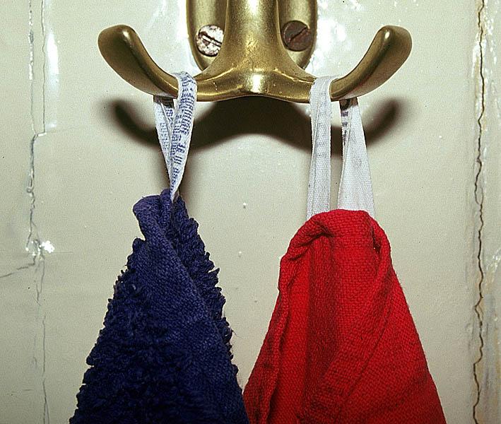 rot - blau