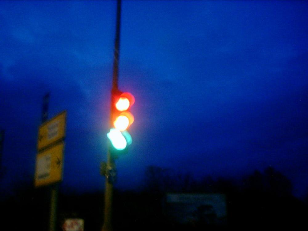 rot gelb oder grün ?