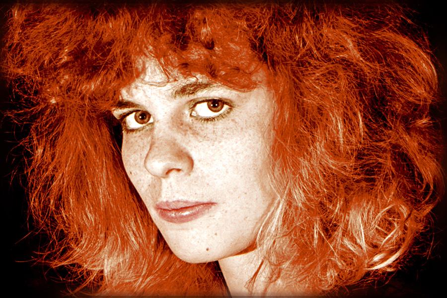 Rot-Haar-Portrait