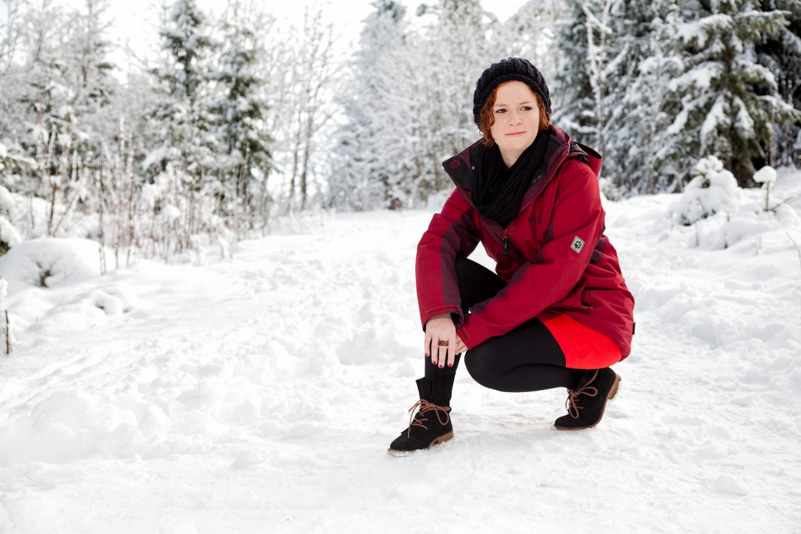 Rot im Schnee (3)