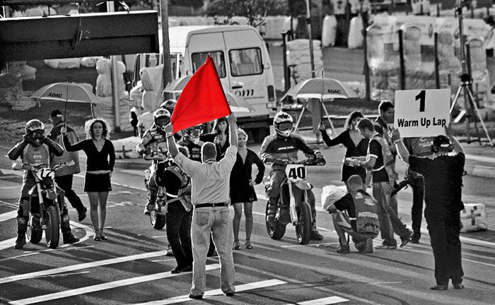 Rot ist die Farbe...
