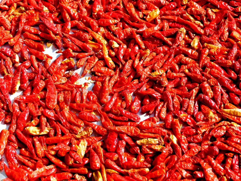 Rot, scharf und gesund