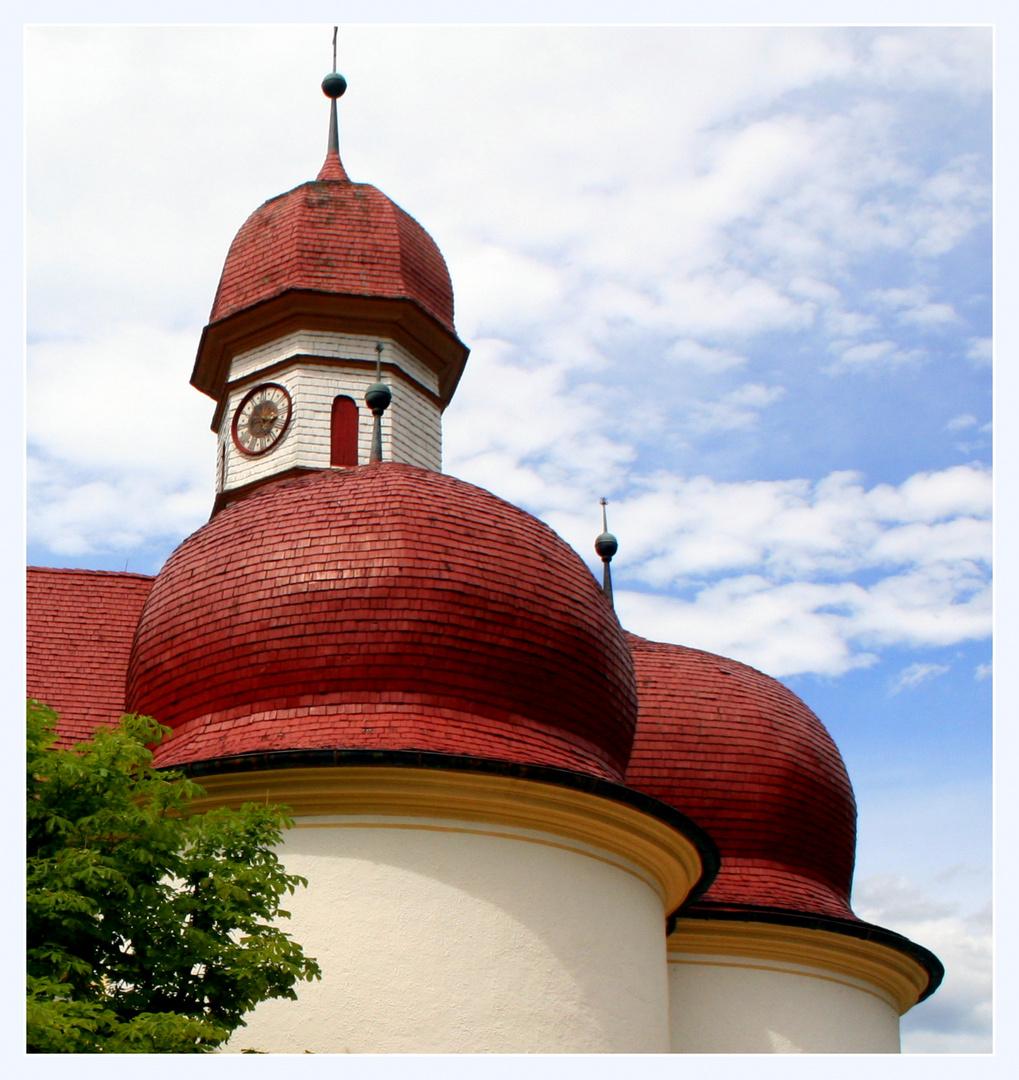 Rote Dachschindeln