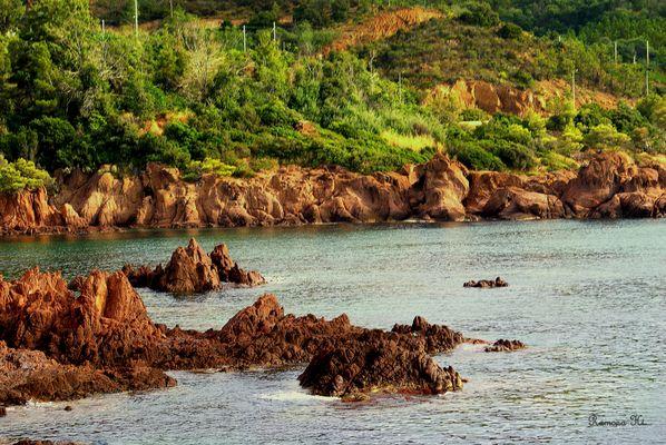Rote Felsen - Côte d'Azur