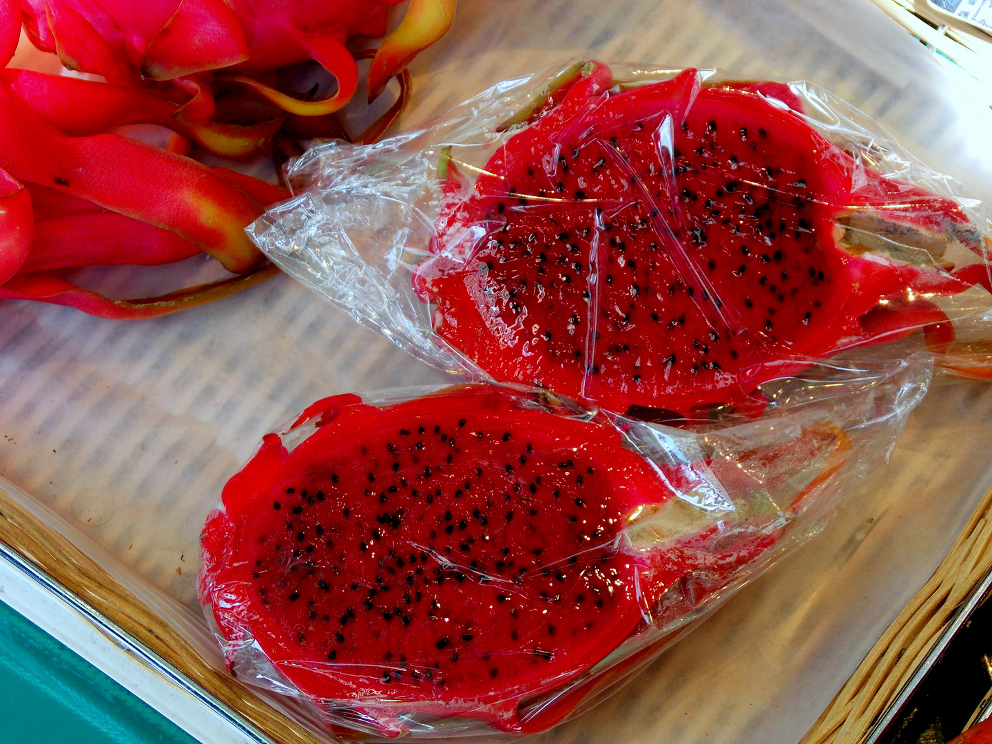 Rote Frucht