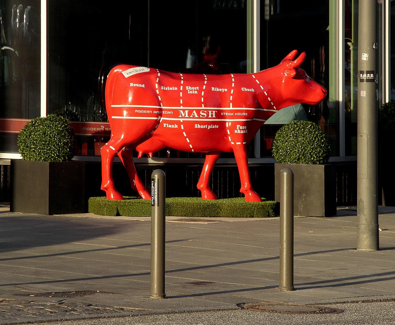 Rote Kuh - tote Kuh
