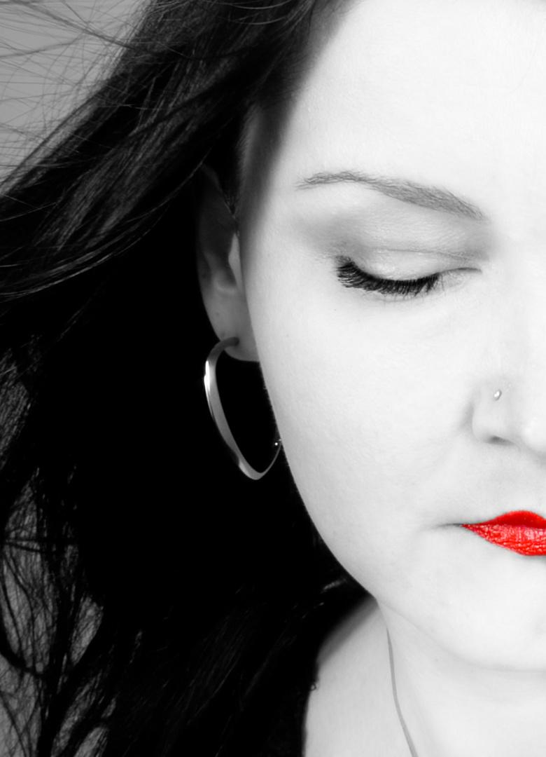 rote Lippen ...