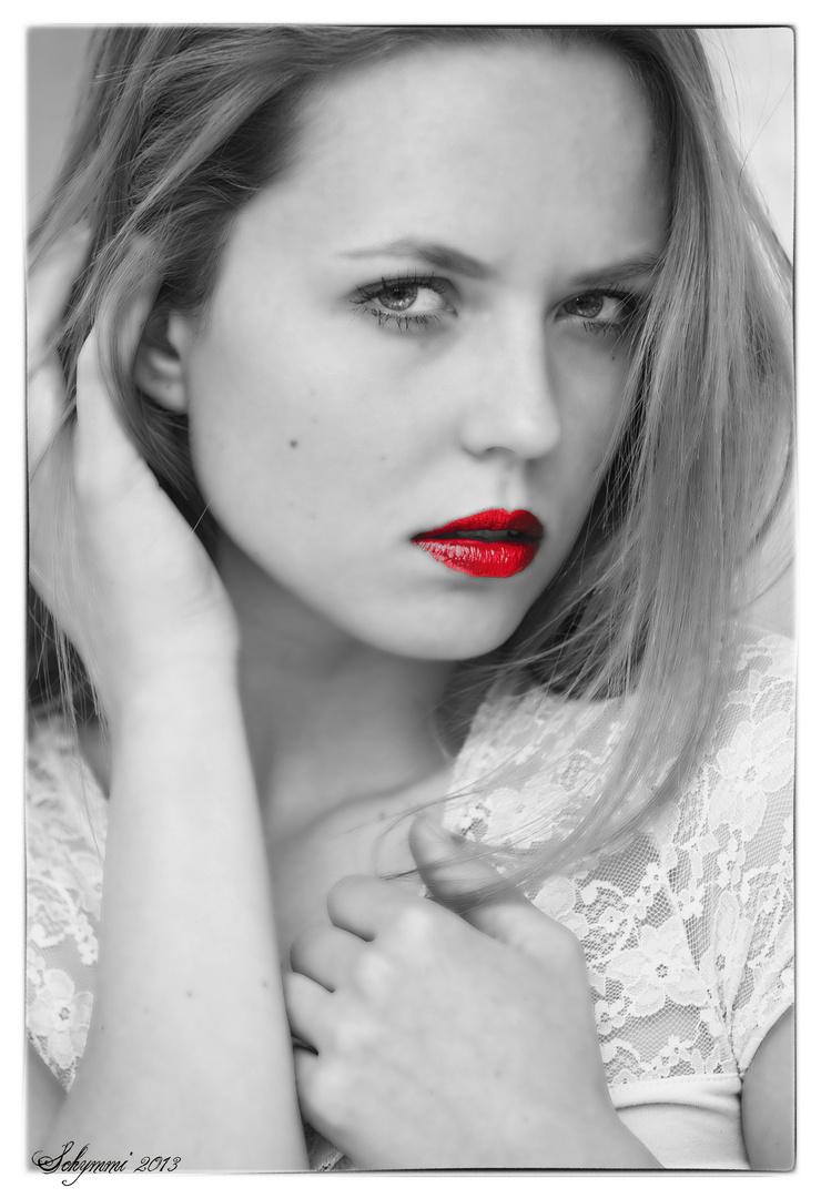 Rote Lippen soll man küssen......