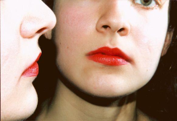 Rote Lippen soll man(n) küssen...
