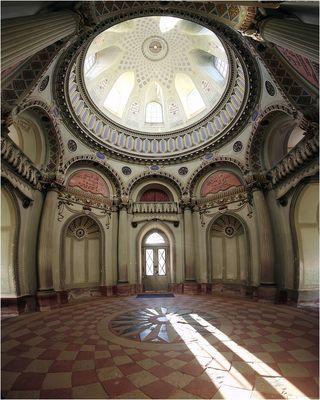 Rote Moschee im Schlosspark Schwetzingen