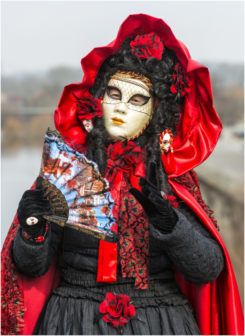 Rote Rosen Lady