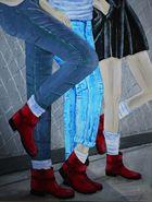 """rote Schuhe"""
