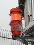 Rote Warnlampe am Stuttgarter Fernsehturm